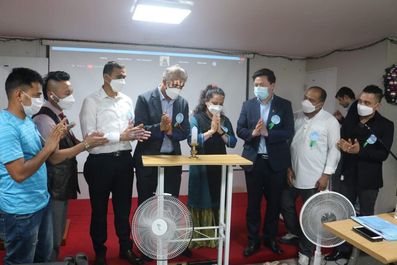 NRNA दक्षिण कोरिया ख्यङ्सान क्षेत्रमा  अध्यक्ष राई